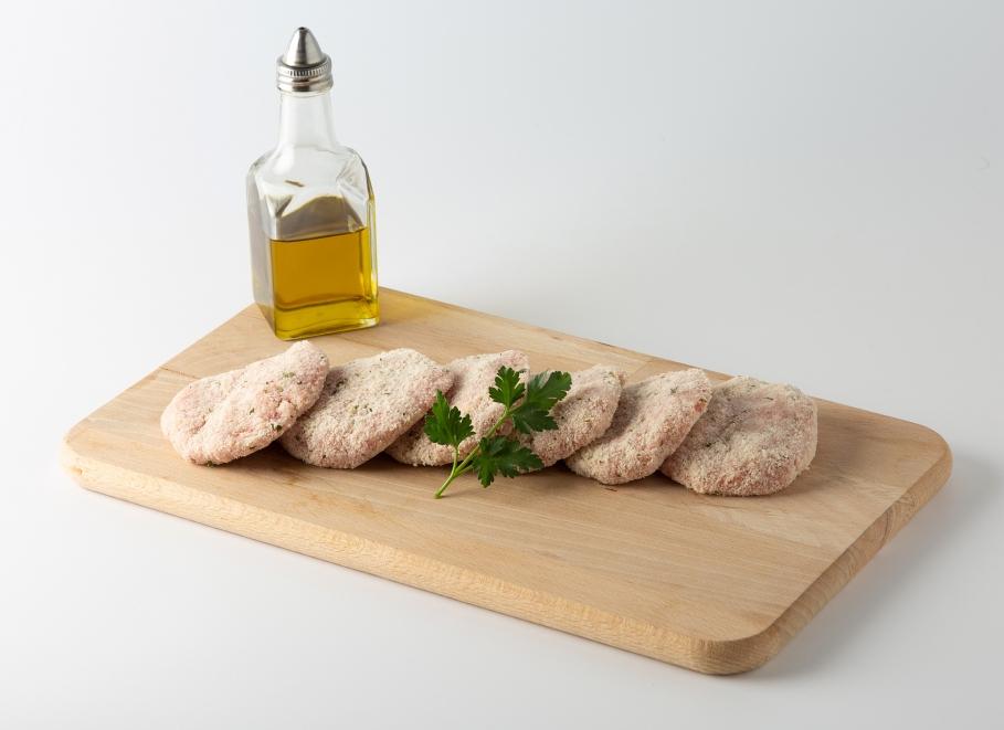 Filete ruso de pollo con queso